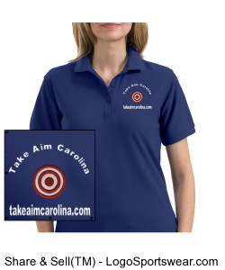Female TAC POLO Design Zoom